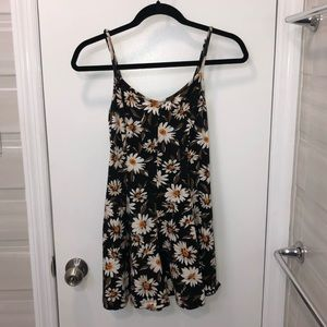 Urban Outfitters Black Daisy Romper